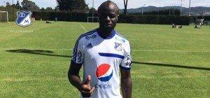 Modeste M'Bami entrena con Millonarios FC
