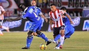 Modeste M'Bami Atlético-Junior-vs-Millonarios-Liga-Postobón-I-2014