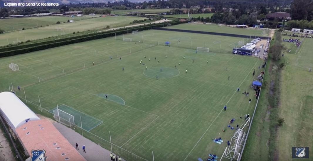 Nueva sede deportiva de Millonarios FC