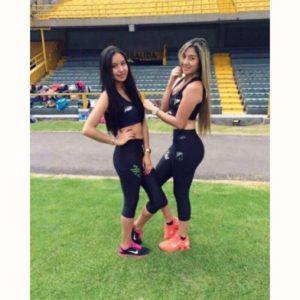 Natalia Romero y Camila Franco