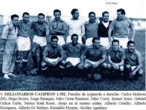 Millos Campeón de 1952