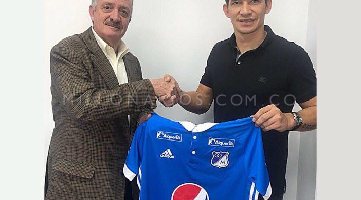 Roberto Ovelar nuevo jugador de Millos
