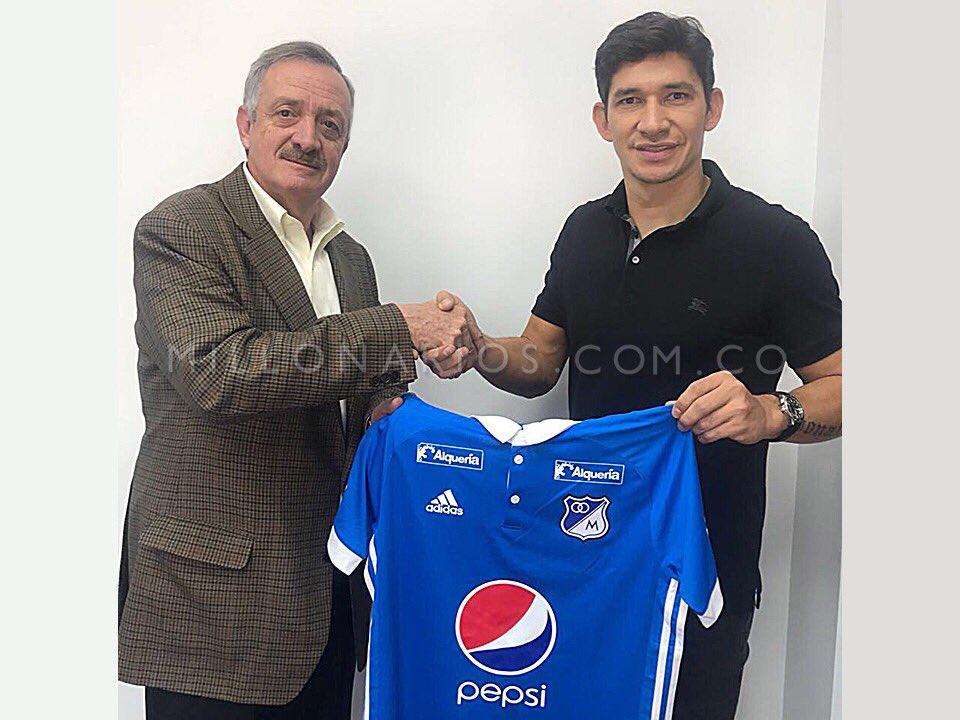 Roberto Ovelar nuevo delantero de Millonarios