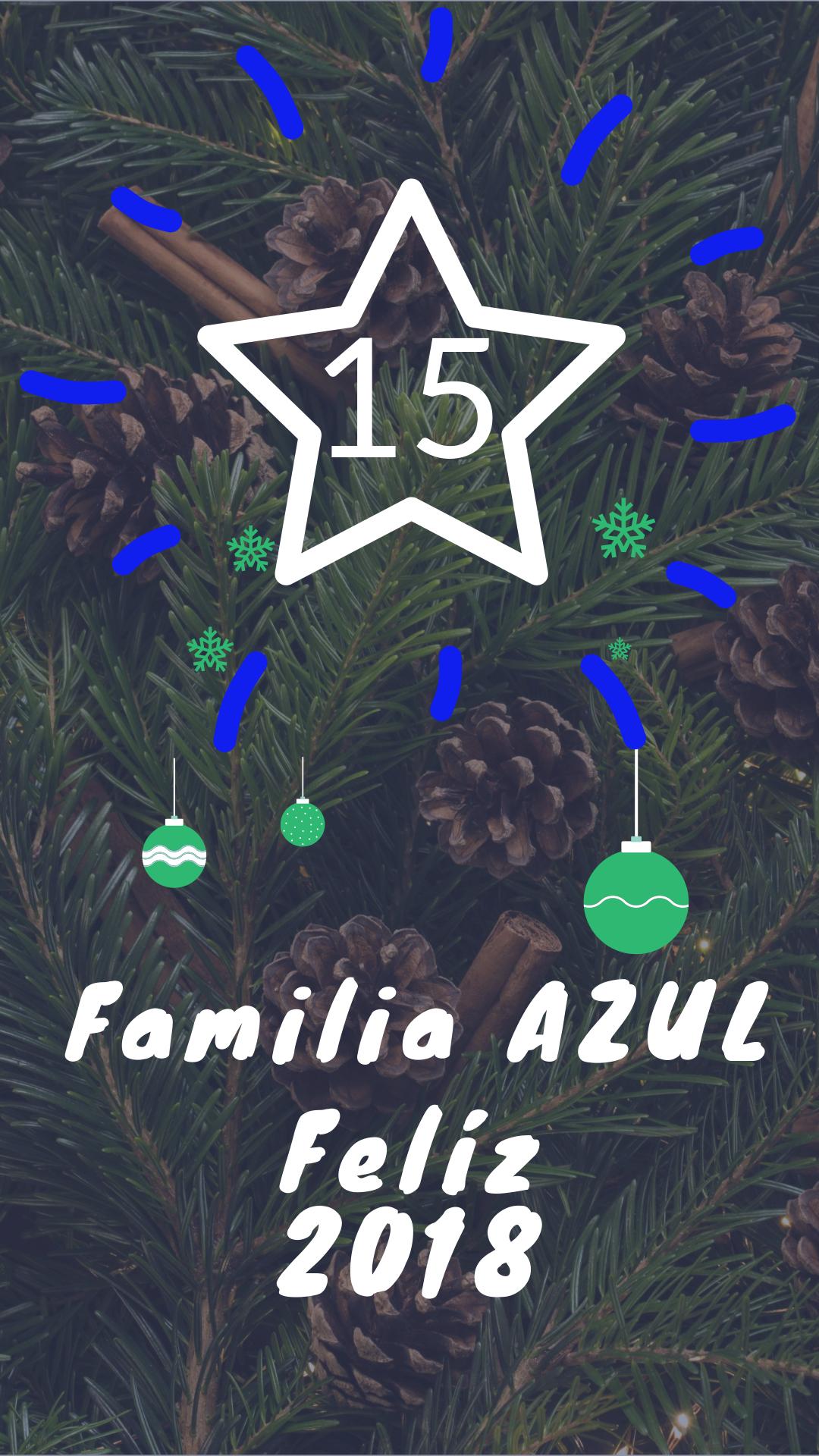 FELÍZ 2018 Familia AZUL!!!