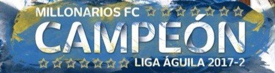 Millonarios FC Campeón estrella 15