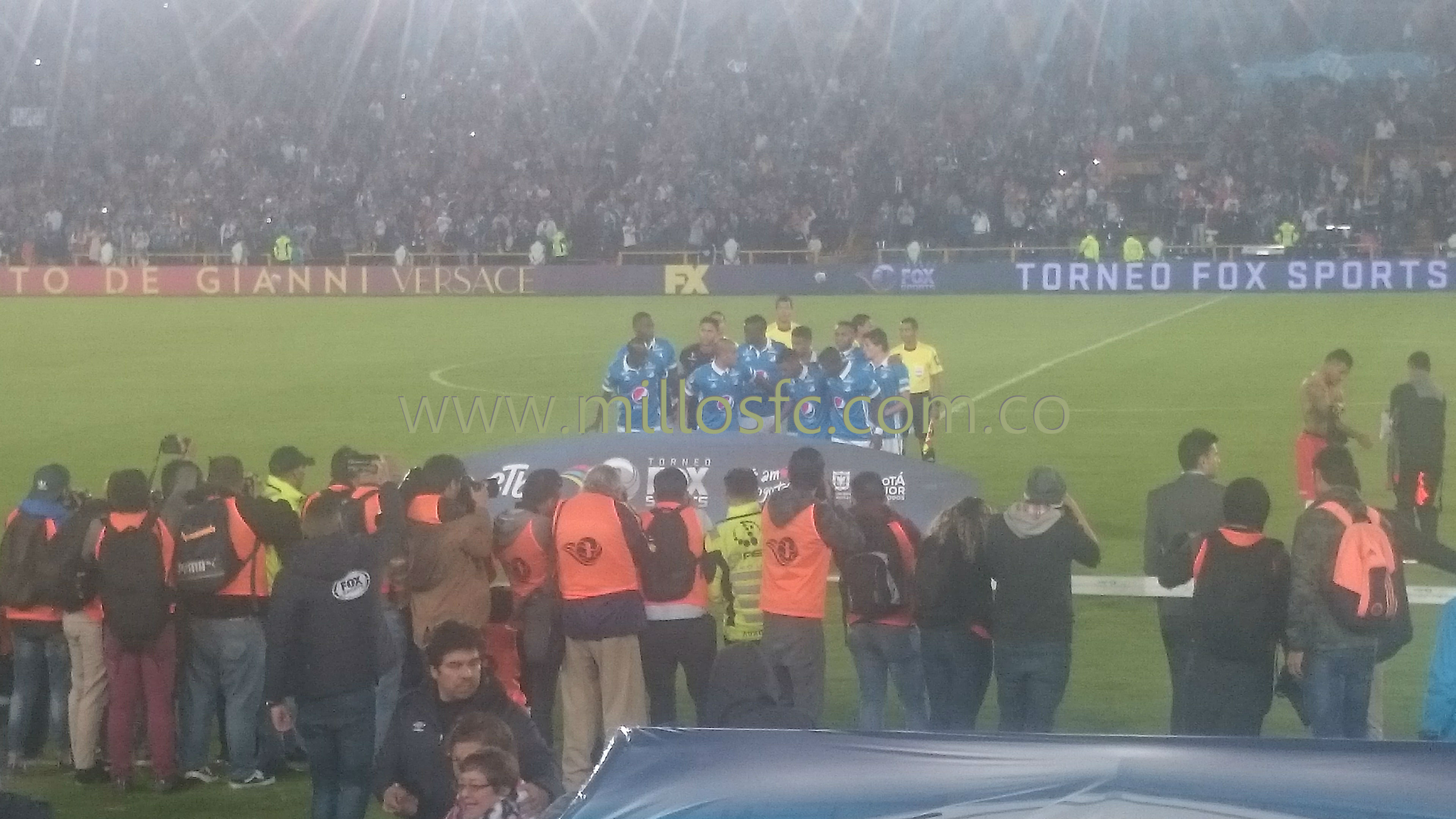 Titular de Millos Torneo Fox Sports
