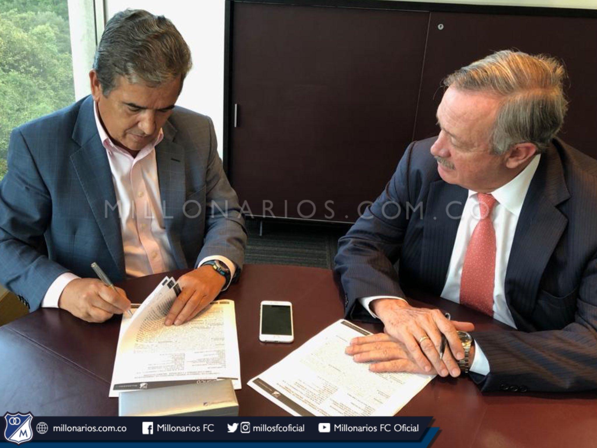 Jorge Luis Pinto nuevo DT de Millonarios, presentación oficial