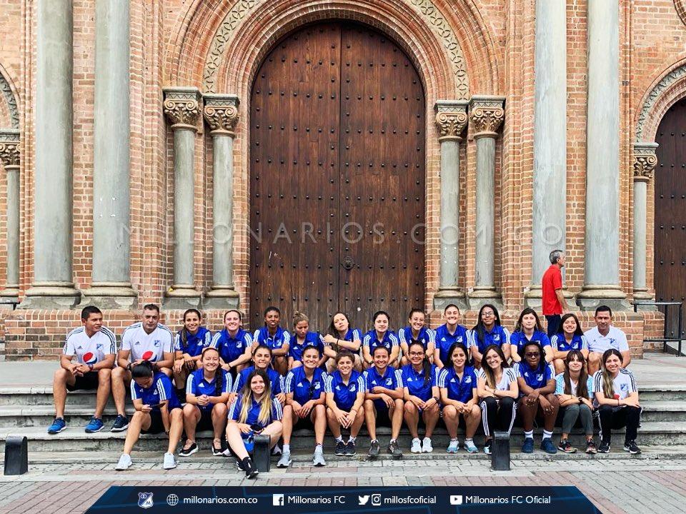 Ellas son Las EMBAJADORAS, el equipo femenino de MILLONARIOS FC